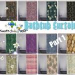 Bathtub Curtains – Recolors – Part 1