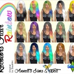 Recolors Hair – Rainbow