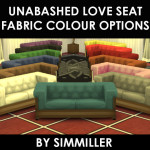 13 Unabashed Love Seat Recolour : Each on 4 New Frames