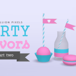 One Billion Pixels: Party Favors (Part 2 – The Sims 4)