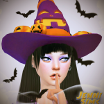Jennisims: Downloads sims 4:Funny and silly hats Halloween Male /Female