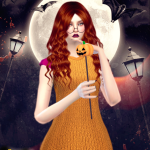 Jennisims: Downloads sims 4:Set Accessory Halloween (Pumpkin Wand,Antenna Bats,Pumpkin) Male /Female