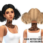 MISSPARAPLY | [S4] Hair retexture / Butterflysims hairs Credits…