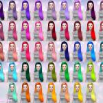 Aveira's Sims 4, Butterflysims Hair 099 – retexture 60 Colors …