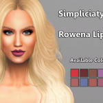 Rowena Lipstick Some lipstick that I made and… – Simpliciaty