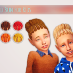 D0rkySimmer, Braided Bun Mashup Unisex I thought EA's braided…