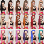 Salem — Anto Hair Nocturnal Retexture (TS4) standalone 18…