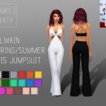Balmain Spring/Summer 2015 Jumpsuit Jumpsuit worn… – Simpliciaty