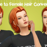 Dream Your Dream 3 Male to Female EA hair conversions