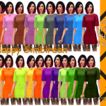 Rickeygirl24 – Happy Simblreen! Treats 20 – 23 Halloween Colors,…