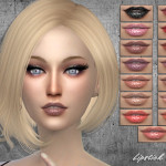 SintikliaSims' Sintiklia – Lipstick 253