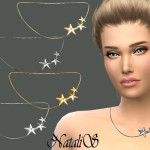 NataliS_Three stars necklace