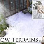 Pralinesims' Snow Terrains