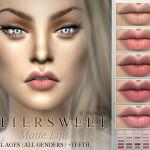 Pralinesims' Bittersweet~ Matte Lipstick 30 Colors | N34