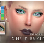 Screaming Mustard's [ Simple Brights ] – Eyeliner and Shadow