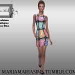 MariaMariaSims' MariaMaria Moschino Boutique Dress One