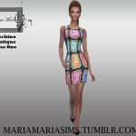 MariaMariaSims' MariaMaria Moschino Boutique Dress One