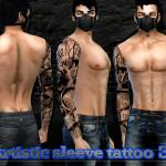 Pinkzombiecupcakes' Artistic Full Sleeve Tattoo 3