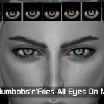 Plumbobs n Fries' [All Eyes On Me] Eyemask