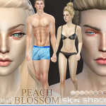 Pralinesims' PS Beach Blossom Skin Shades