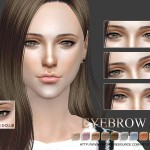 S-Club WM thesims4 Eyebrows 13F