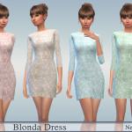 Neferu's Blonda Dress