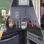 Decor switches and sockets for TheSims4