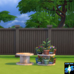 Plant Table | Simista A little Sims 4 Site