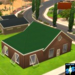 Colorbond Corrugated Iron Roof | Simista A little Sims 4 Site
