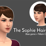 The Sophie Hair | Lexicon Luthor TS4CC