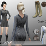altea127 SimsVogue: Alexia Coat + Boots