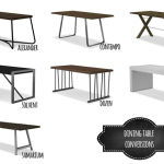 DINING TABLE CONVERSIONS | Mio sims