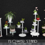 Flower stand. |