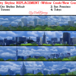 City Skyline Replacements Pack 3