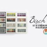 Simsational Designs: Birch You! – Set of Birch Paintings