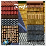 Dachziegel, Roofs oder wie sie sonst heissen mögen – Oldbox´s Möbelhaus – All4Sims.de