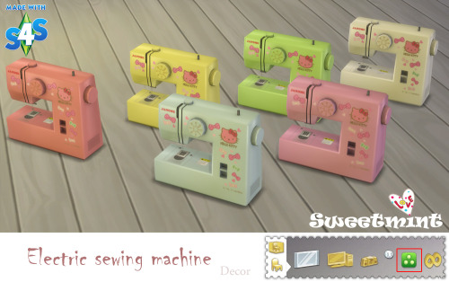 sims 4 sewing machine