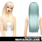 MISSPARAPLY | [TS4] Hair retexture: solid & dark roots 64 colors…