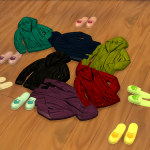 SimsFansset includes 30 pieces.