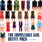 NYAMI SIMS The Impossible Girl Outfit Pack