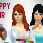 Simduction – Poppy Hair by Simduction New hair for females….