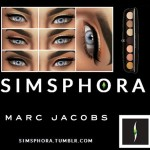 SIMSPHORA  MARC JACOBS BEAUTY STYLE EYE CON NO.7 PALETTE IN THE DREAMER