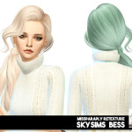 MISSPARAPLY | [TS4] Skysims Bess: solids 64 colors Custom…