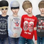 Pinkzombiecupcakes' PZC_Modern Fall Kids Sweatshirts