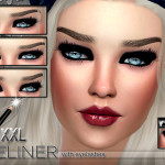 Pinkzombiecupcakes' XXL_Seductive_ Eyeliner with eyelashes