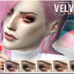 Pralinesims' Velvet Eyeshadow | N16