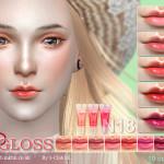 S-Club LL thesims4 Lipstick F18