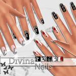 Pinkzombiecupcakes' PZC_Divina Nails Collection