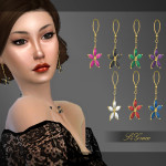 [S4Grace] – Flower Earrings