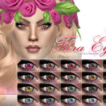 Pralinesims' Flora Eyes | N45